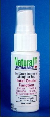Natural Ophthalmics - Total Ocular Function/Oral Absorbtion Spray 30ml