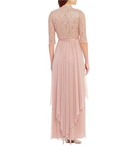 f035a4a9a6e1 Home/Color/Pink/R&M Richards Womens Sequin Lace Long Jacket Dress – Mother  Of The Bride Dress (Blush, 12). ; 