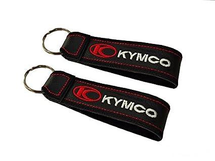 Moto Discovery Kymco cordón Llavero Doble Cara (1 Pieza)