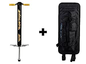 Flybar Super Pogo 2 & Pogo Backpack Carrier - Black/Yellow