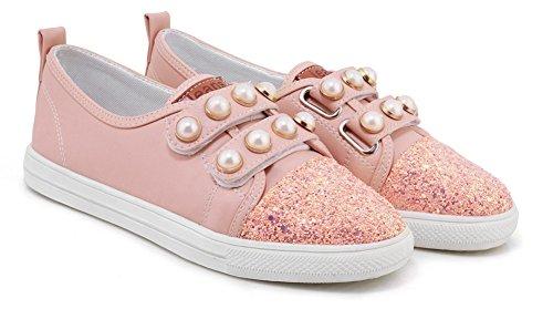 Sneakers Rose Confortable Aisun Paillettes Talon Tennis Plat Femme FwaSY