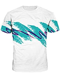 Sankill Summer Casual T Shirt Galaxy Space Creative 3D Printed Graphic Men Women Unisex Couple Tee Top Short Sleeve...