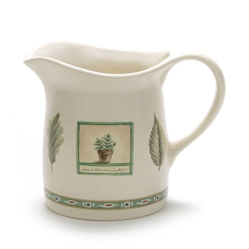 Naturewood by Pfaltzgraff, Stoneware Cream Pitcher