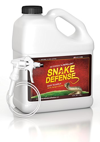 Snake Defense One Gallon Spray Repellent and Deterrent for All Types of Snakes……