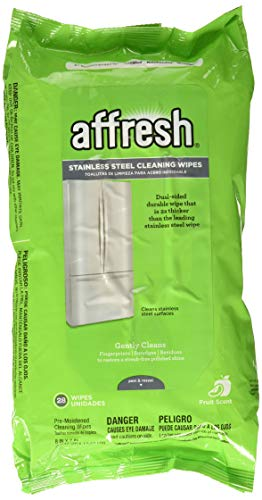 Affresh W10539769 Stainless Steel Wipes, 28Ct