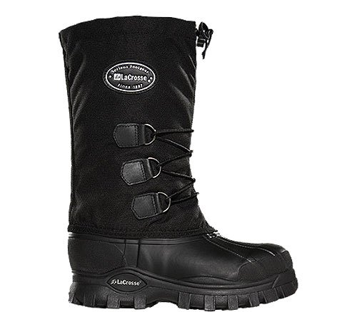 Women's LaCrosse 12 inch Whitney II Pac Boots, BLACK, 8 - Toe Pac Boot