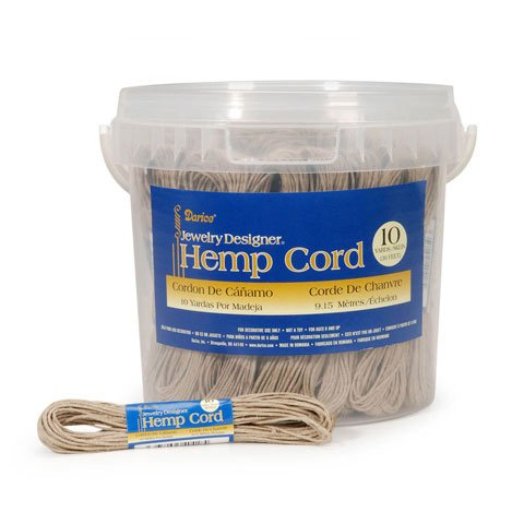 Bulk Buy: Darice DIY Crafts Hemp Cord Natural 10 yard skeins
