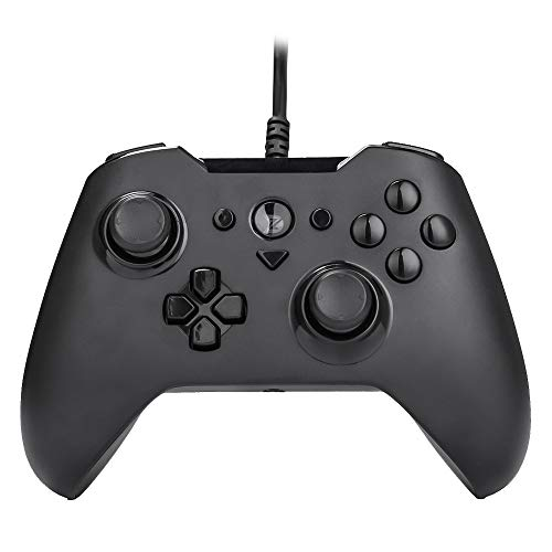 ZD-O Wired Gaming Controller 6 Remappable Multi-Function Buttons for Steam Nintendo Switch,Lapto/PC(Win7-Win10),Android Smartphone Tablet VR TV Box (O-Black)