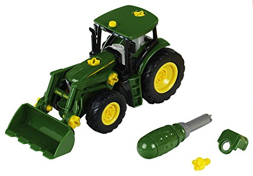 Theo Klein 3903 - John Deere Tractor with Front - Thank John You Deere
