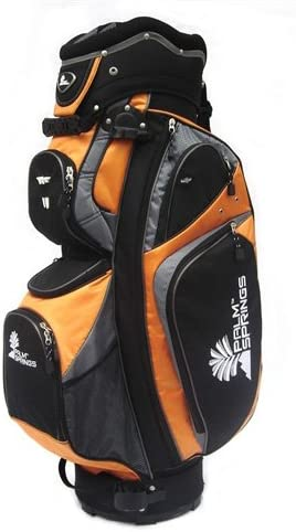 Palm Springs Golf Orange Silver 14 Way Divider Cart Bag