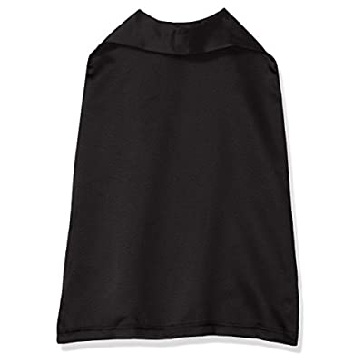 Clementine Kids Toddlers Hook and Loop Reversible Cape, Black/Black, OS: Clothing