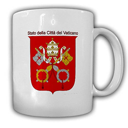 Vatican City Coat of Arms Emblem Stato della Città del Vaticano - Coffee Cup Mug