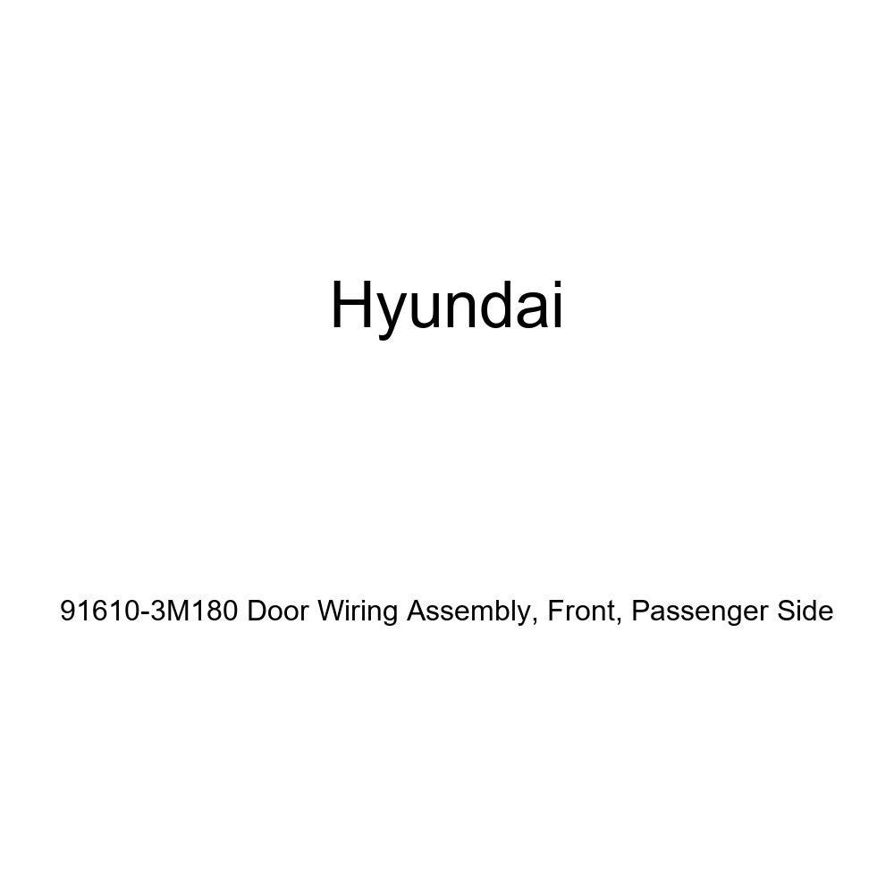 Front Genuine Hyundai 91610-3M180 Door Wiring Assembly Passenger Side