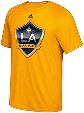 adidas Los Angeles Galaxy Gold Giant Logo Shirt