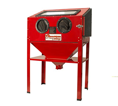 New 60 Gallon Sandblast Cabinet Sand Blaster Air Tool w/ 40lb bottom feed hopper by Magnum Air