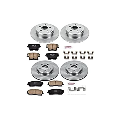 Image of Autospecialty KOE1715 1-Click OE Replacement Brake Kit Home and Kitchen
