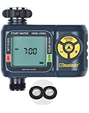 Melnor 65034-AMZ AquaTimer Digital Water Timer with 2 Stainless Steel Filter Washers