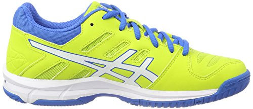 Volleyball Asics Homme Green de Chaussures 5 Blue Beyond Electric Jaune Energy White 7701 Jaune Gel wXxqTXZ