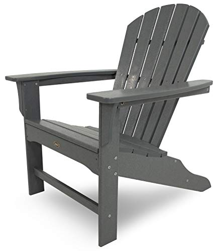 Trex Outdoor Furniture Cape Cod Adirondack Chair, Stepping Stone (Renewed)