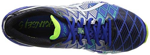ASICS Gel-Kinsei 5 - Zapatillas de deporte para hombre Azul (Blue / White / Emerald Green 4201)