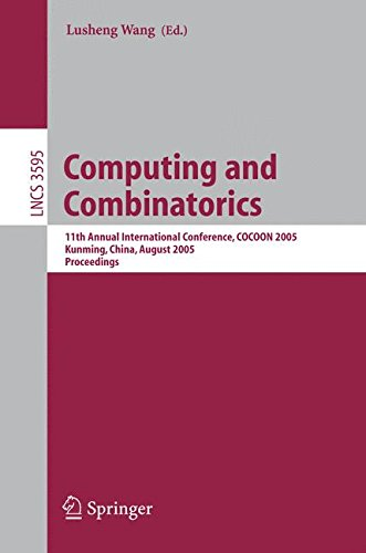 Computing and Combinatorics: 11th Annual International Conference, COCOON 2005, Kunming, China, August 16-19, 2005, Proceedings (Lecture Notes in Computer Science) pdf epub