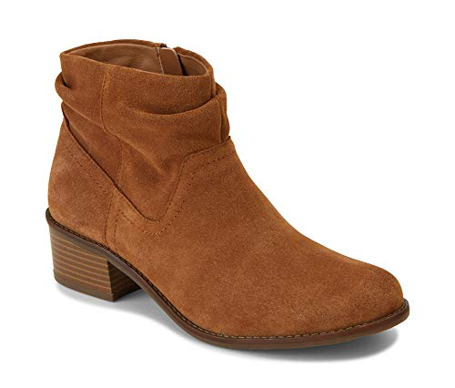 Vionic Women's Hope Kanela Boot - Ladies Bootie with Concealed Orthotic Arch Support Toffee 10 M US