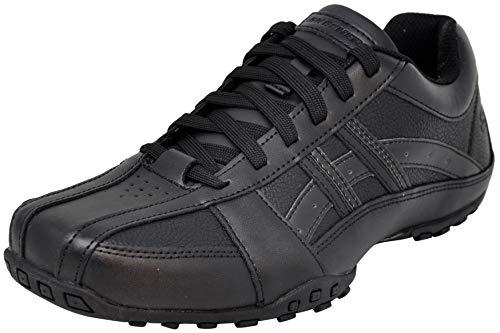 Skechers Men's Citywalk Malton Oxford Sneaker, Triple Black, 10 M US