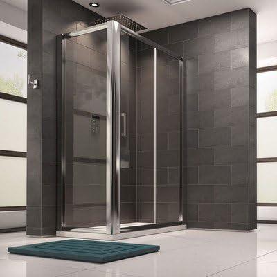 Morris para puerta corredera de ducha 1100 x 800 tamaño: 185 cm H x 170 cm Ancho x 80 cm D: Amazon.es: Hogar