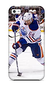 High Quality HbZHqfX2437oRqMl Edmonton Oilers (27) Tpu Case For Iphone 5c