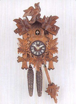 Sternreiter - German Hand Carved Cuckoo Clock with One-Day Movement 1200 by Sternreiter