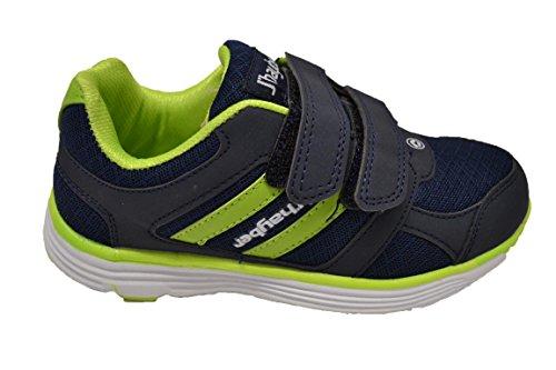 JHayber Rimar - Zapatillas deportivas de nylon para niño con cierre de velcro