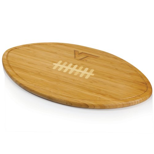 NCAA Virginia Tech Hokies Kickoff Cheese Board (Tech Board Logo Cutting)