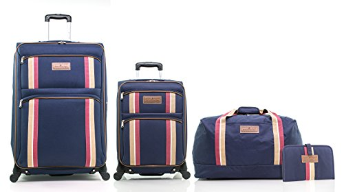 Hilfiger Tommy Luggage (Tommy Hilfiger North Harbour Four Piece Luggage Set (28