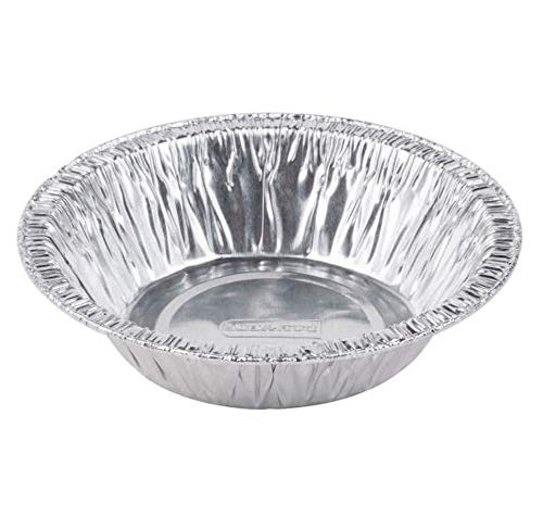 4 7/8 inch Tart Pan Disposable Aluminum Mini Pot Pie Tin Bulk (Pack of 1000)