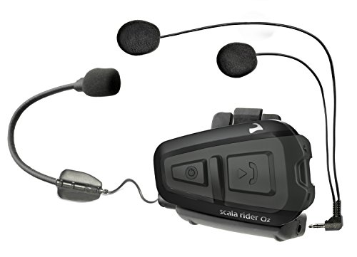 Cardo Systems Inc Qz Scala Rider Communication Head Set Accessories - Black by scala rider
