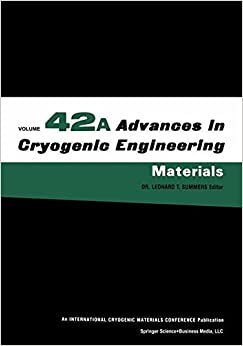 Book Advances in Cryogenic Engineering Materials