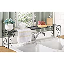Expandable Over Sink Shelf