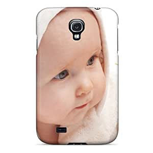 Hot EOQthKo3258HlhMw Case Cover Protector For Galaxy S4- Baby With Flower