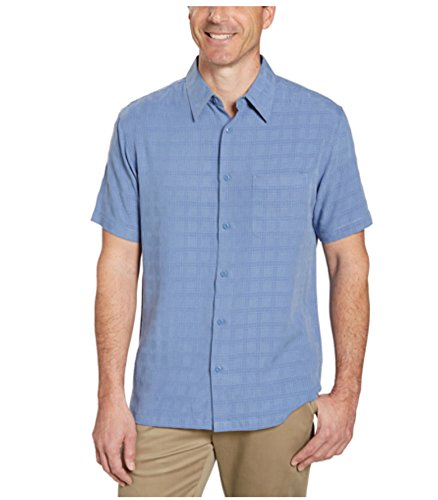 Age of Wisdom Mens Short Sleeve Woven Shirt