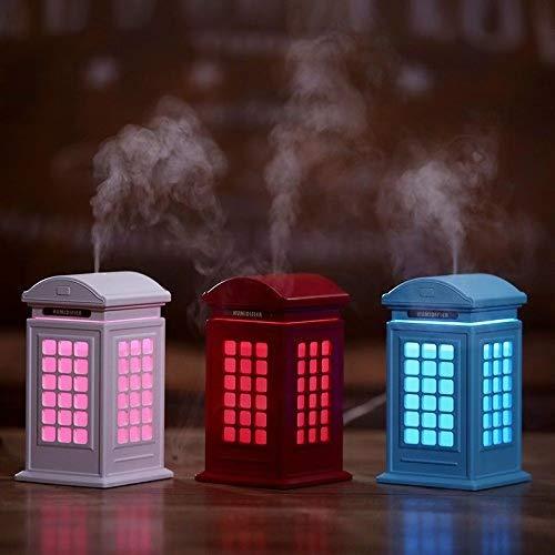 海外最新 RGB - LEDのHela電話ブースの加湿器の噴霧器は子供のために動力を与えられるUSBケーブル - 赤をつけます B07GH76DRC 赤をつけます B07GH76DRC, 生活雑貨なんでもアリス:1cbd095a --- arianechie.dominiotemporario.com