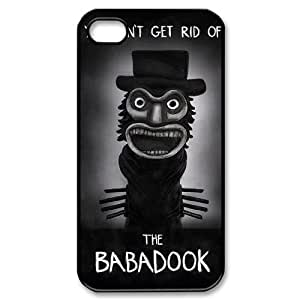 YUAHS(TM) Custom Phone Case for Iphone 4,4S with The Babadook YAS341420