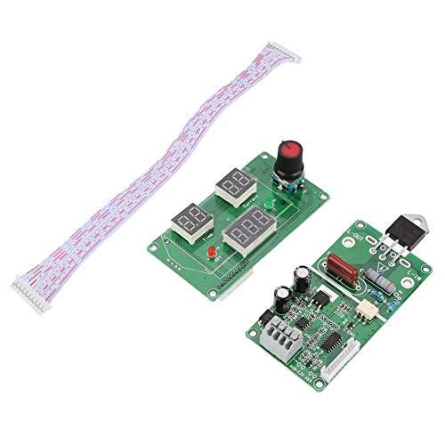 Spot Welder, Digital LCD Single Pulse Encoder Spot Welder Machine Time Control Board for Welding(#1)