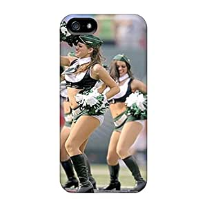 Iphone 5/5s RIW19148zJZa Customized Attractive New York Jets Pattern Protector Cell-phone Hard Covers -JoanneOickle