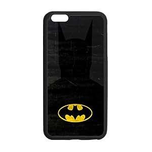 the Case Shop- Bat Man BatMan Bat man Super Hero TPU Rubber Hard Back Case Silicone Cover Skin for iPhone 6 Plus 5.5 Inch , i6pxq-634
