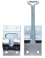 DOITOOL RV Door Holder Metal T-Style Entry Door Catch Exterior Door Hold Hook Keeper Hardware for Camper Trailer Motorhome