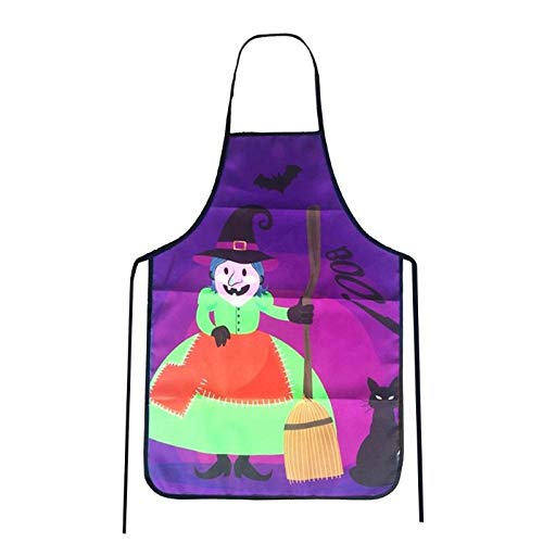 Navy Pink Red Royal Stone - Aprons - Polyester Fiber Twill Apron Halloween Weird Pattern Waterproof Durable Cooking Home Decorative - Valentines Mrs Hairstylist Youth Washable Dogs Mens Pockets Funny Multi