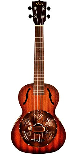 Kala KA-RES-BRS Tenor Resonator Ukulele - Brass Cover by Kala