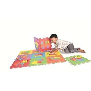 Amazon Com Imaginarium Foam Puzzle Mat 12 Piece Toys