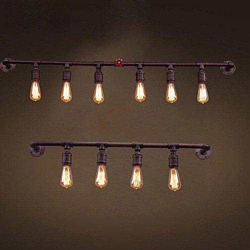 American Loft Tube Bar Counter Wall Lights Classical Industrial ...