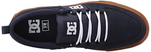 DC Herren Lynx Schnür Mode Sneaker Marine / Gummi